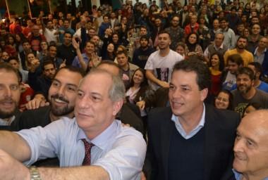 Deputado Rodrigo Minotto confirma Ciro Gomes em Criciúma