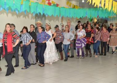 Prefeitura de Jacinto Machado promove Arraiá da Terceira Idade