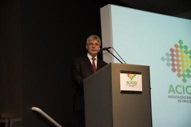 Presidente da Acic fala aos jovens empresários da AJE