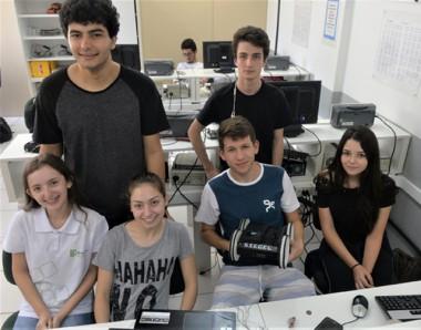 Estudantes vão representar Criciúma em competição de robótica