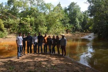 Equipe percorre da nascente a foz da Bacia do Rio Urussanga