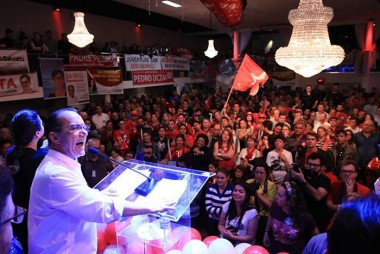 Vereador participa de Convenção Partidária