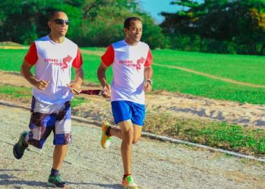 Por meio do esporte, içarense supera barreiras da deficiência visual