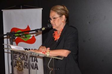 Ada De Luca apresenta na Alesc trabalho à frente da SJC