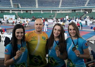 Nações Shopping recebe atletas de Içara em Circuito de Caratê