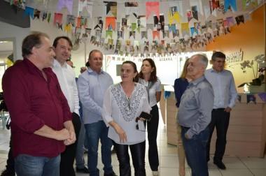 Vereadores realizam visita no Sesi Escola Criciúma