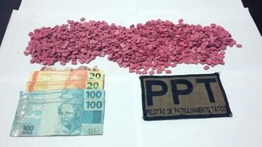 Homem é preso com 1,5 mil comprimidos de ecstasy em Içara