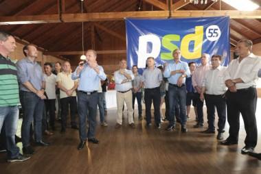 PSD fortalece nome de Gelson Merisio para 2018