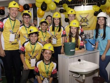 Equipe de robótica do SESI se classifica para a etapa nacional do torneio FLL