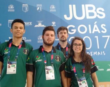 Unesc representa Santa Catarina no JUBs e traz medalhas para casa