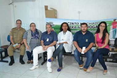 Terceira edição do projeto Jacinto Machado contra as drogas