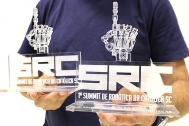 Equipe de robótica da Satc se destaca no 1º Summit de Robótica