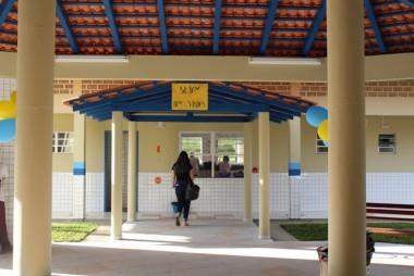 FNDE realiza vistoria na Escola Municipal Rosalino de Nez