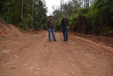 Estrada é recuperada no interior de Jacinto Machado