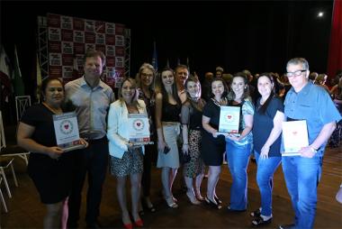 Içara garante quatro prêmios no II Mérito Regional de Saúde