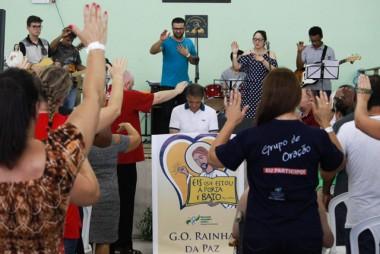 Experiência de Oração reúne aproximadamente 300 participantes em Siderópolis