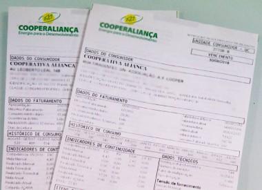 Cooperaliança continuará no ranking das tarifas mais baratas