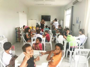 Férias nos CRAS proporcionam diversão às crianças e adolescentes