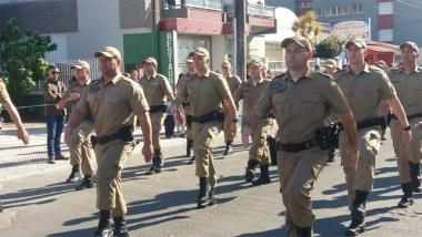 19º BPM participa do Desfile de 7 de Setembro