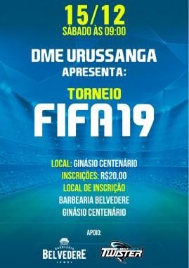 Urussanga promove campeonato inédito de Fifa 19