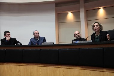 Deputada Ana Paula Lima recebe comitiva de Urussanga