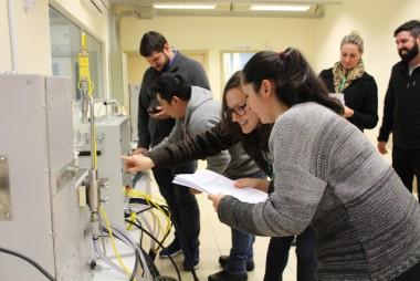 Centro Tecnológico realiza treinamento sobre análise de gases