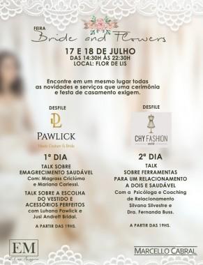 Feira Bride and Flowers apresenta novidades do mercado de casamentos