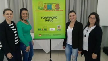 Educadores participam da primeira etapa do curso do Pnaic