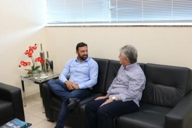 Centro de Inovação é pauta entre Acic e o deputado Daniel Freitas