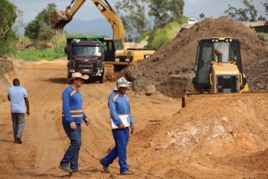 Frente de Obras Complementares tem acesso somente para pessoal autorizado