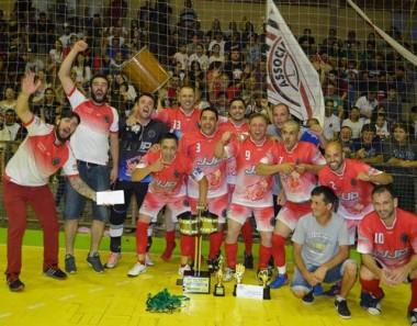 Ambra e Santana garantem o título no Municipal de Futsal