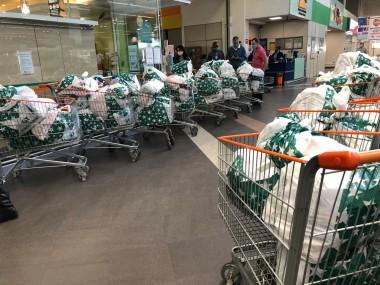 Hospital São José recebe doação de quase 1,5 tonelada de alimentos