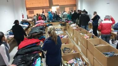 HSD atende mais de 600 pessoas em menos de dois dias de bazar