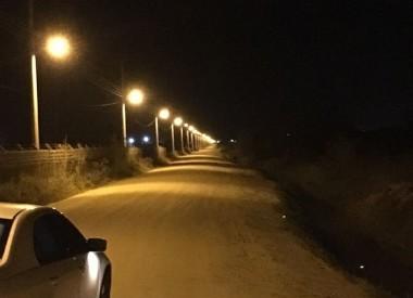 Morro da Fumaça conclui a iluminação da Rua Picadão Paladini