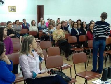 Professores recebem capacitação sobre o PNAIC