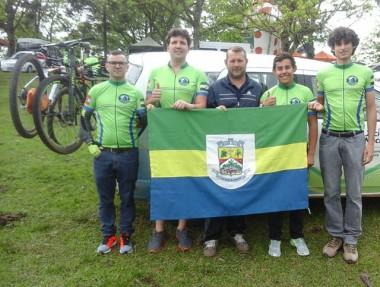 Equipe de Jacinto Machado participa do Jasc com ciclismo