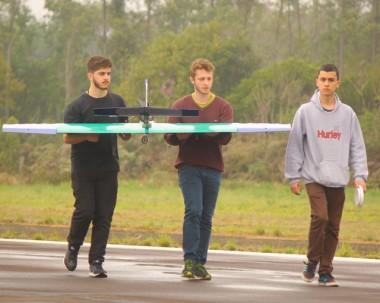 Projeto AeroSatc participa de competição da Sae Brasil