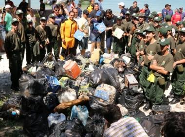 Projeto Limpeza dos Mares será retomado em 21 de outubro
