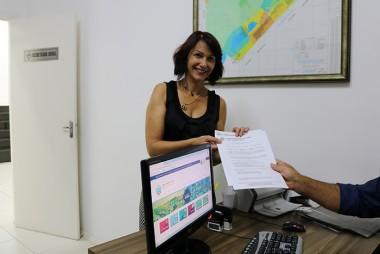 Vereadora apresenta Programa Alunos no Legislativo