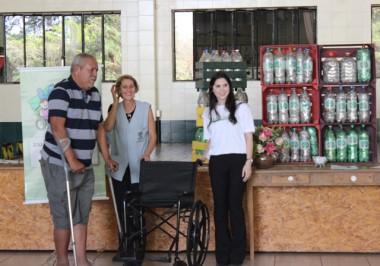 Lacre Solidário garante cadeira de rodas para a Casa Guido