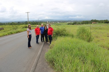 Vereadores de Içara vistoriam rodovias no Poço Oito e Boa Vista