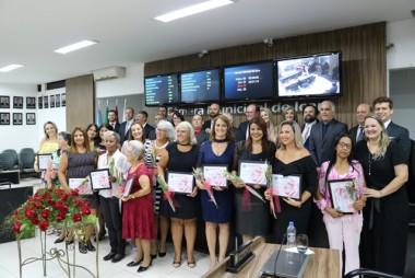 Câmara realizou Sessão Especial em homenagem as mulheres