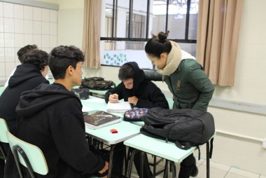 Projeto auxilia alunos da Satc na disciplina de Matemática