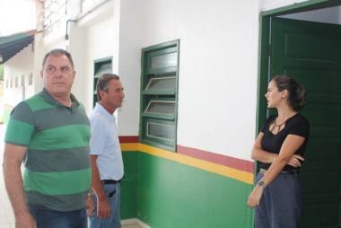 Reforma da Escola Nivaldo Rosa deve ser entregue em um mês