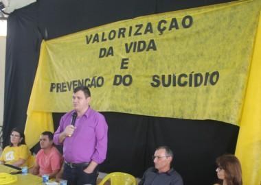 Palestra encerra as ações do  setembro amarelo em Rincão