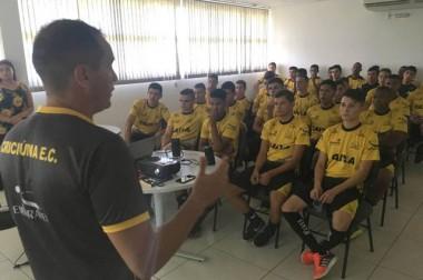Base do Tigre retoma trabalhos para a temporada