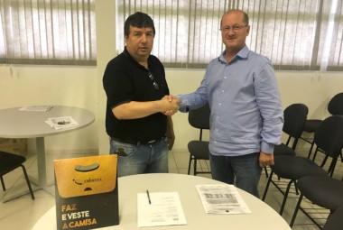 Criciúma Esporte Clube e Embratex renovam contrato