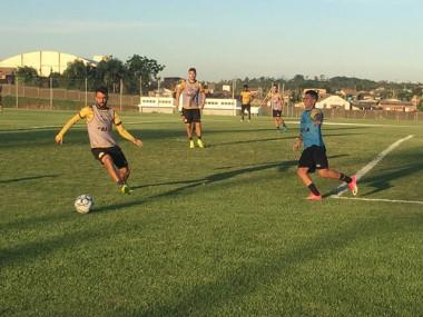 Tigre faz treinamento intenso na parte técnica