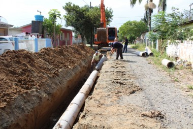 Nova tubulação melhora qualidade de vida em Maracajá