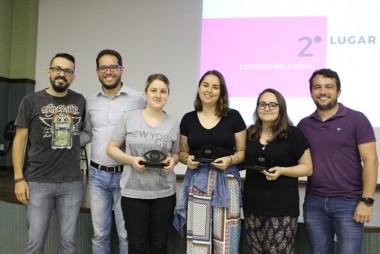 Acadêmicos da Satc recebem Prêmio Alma Publicitária